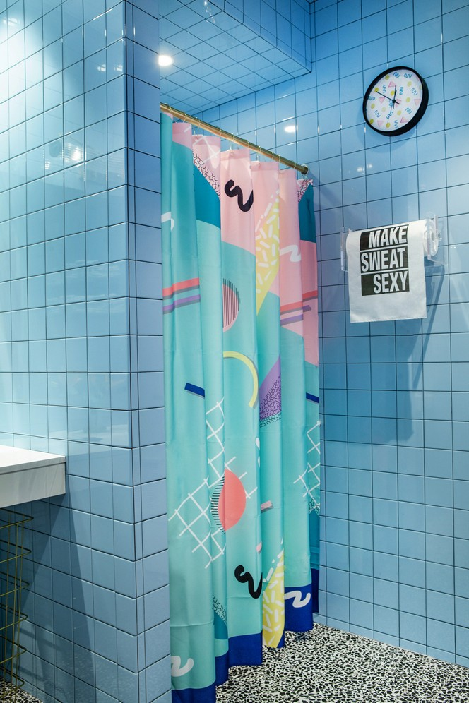 sasha bikoff Sasha Bikoff's Take At An 80s-Inspired Fitness Studio in NYC Sasha Bikoffs Take At An 80s Inspired Fitness Studio in NYC 17