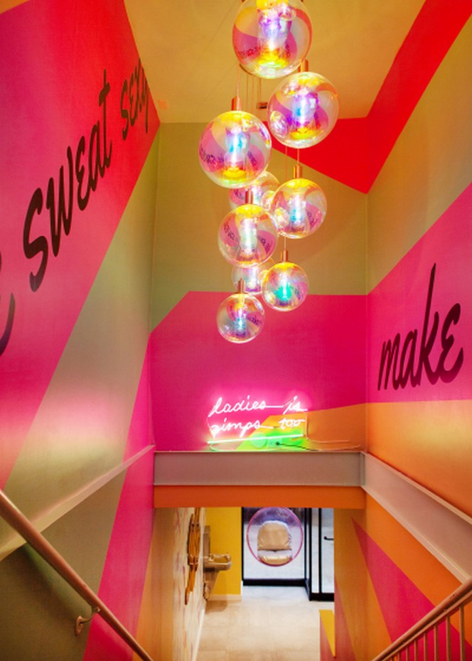 Sasha Bikoff's Take At An 80s-Inspired Fitness Studio in NYC sasha bikoff Sasha Bikoff's Take At An 80s-Inspired Fitness Studio in NYC Sasha Bikoffs Take At An 80s Inspired Fitness Studio in NYC 21