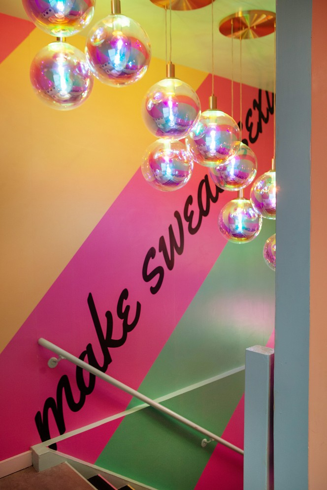 Sasha Bikoff's Take At An 80s-Inspired Fitness Studio in NYC sasha bikoff Sasha Bikoff's Take At An 80s-Inspired Fitness Studio in NYC Sasha Bikoffs Take At An 80s Inspired Fitness Studio in NYC 22