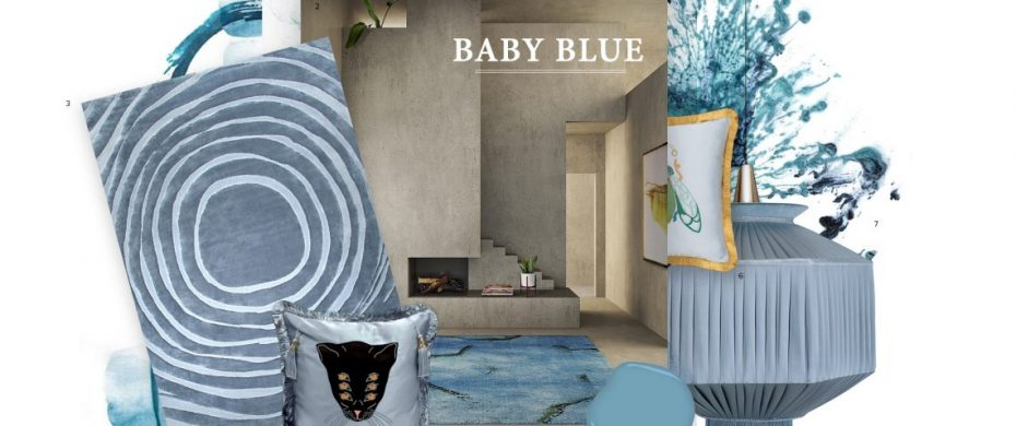 baby blue Color Trends 2019: Introduce Baby Blue Into Your Home Decor Color Trends 2019 Introduce Baby Blue Into Your Home Decor 1 930x390